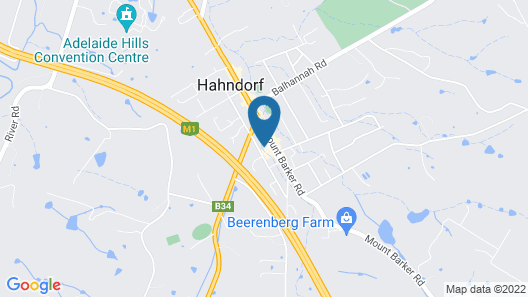 Hahndorf House B&B Map
