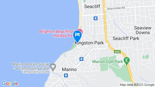 Brighton Caravan Park Map