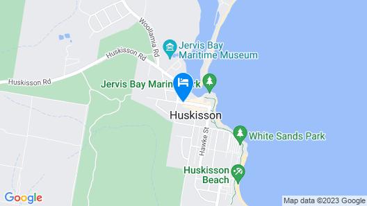 Jervis Bay Motel Map