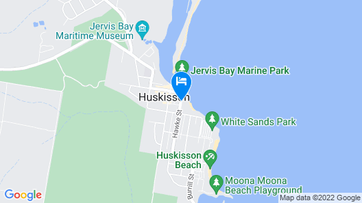 Huskisson Beach Motel Map