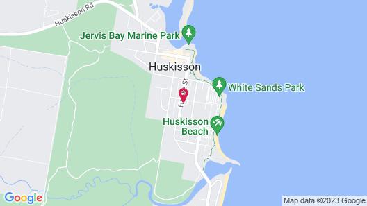 Huskisson Holiday Motel Cabins Map
