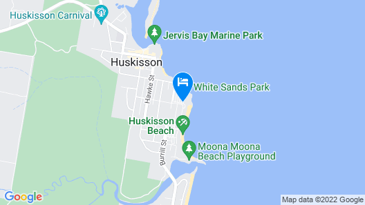 Holiday Haven White Sands Map