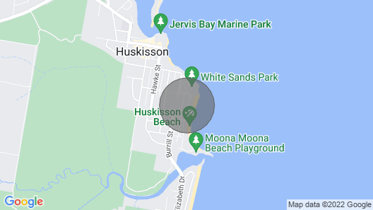 Beachfront Luxury @ 302/7 Beach Street, Huskisson Map