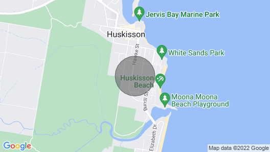 751 - Annvilla - Two Bedroom Townhouse in Huskisson Map