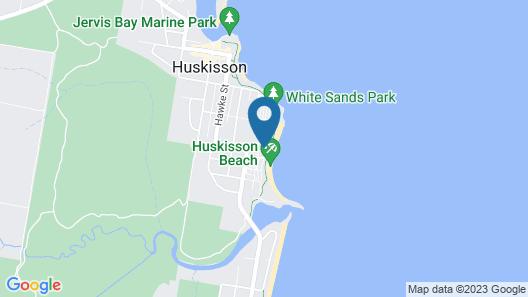 Holiday Haven Huskisson Beach Map