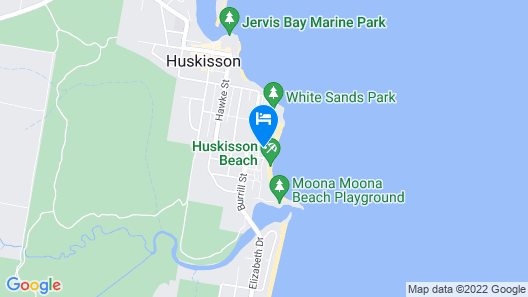 Holiday Haven Huskisson Beach Map