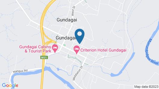 Church House B&B Gundagai Map