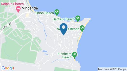 Bella Villas of Jervis Bay Map