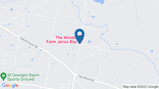 The Woods Farm Jervis Bay Map