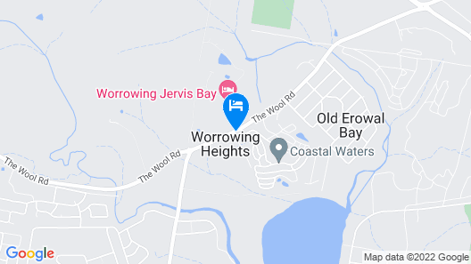 Worrowing Jervis Bay Map