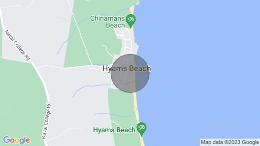 Elandra - Absolute Beach Front Luxury Map