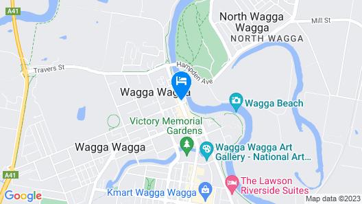 Prince of Wales Motor Inn Map
