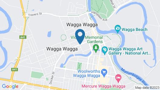 Quest Wagga Wagga Map
