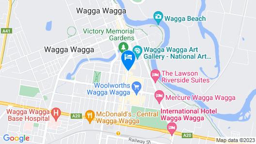 Civic Apartments Map