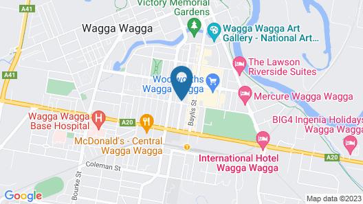 Globe Apartments Map