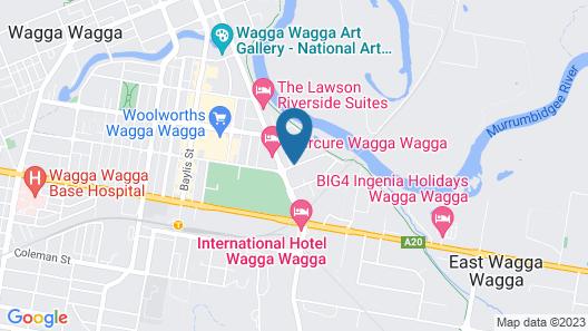 Garden City Motor Inn Map