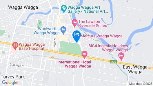 Mercure Wagga Wagga Map