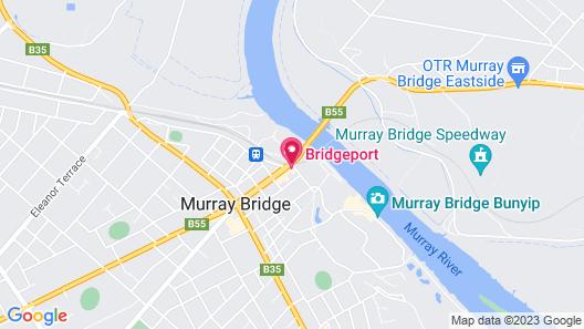 Bridgeport Hotel Map