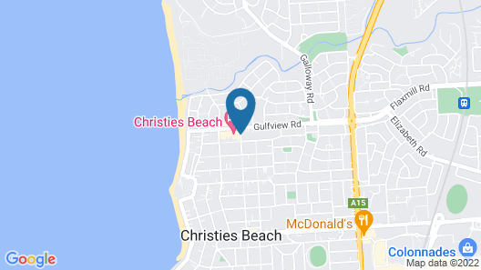 Christies Beach Hotel Map