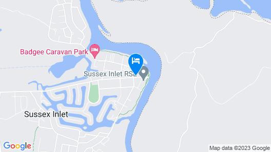 Jopen Cafe & Motel Map