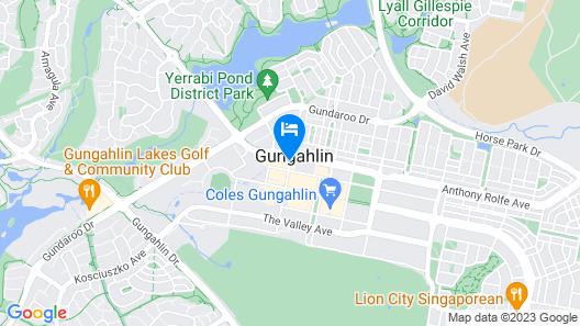 Abode Gungahlin Map