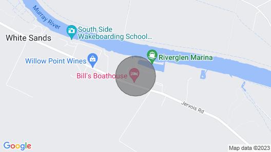 Riverglen Retreat, Marina Frontage, River Views, Near The Bend Motorsport Park, Map