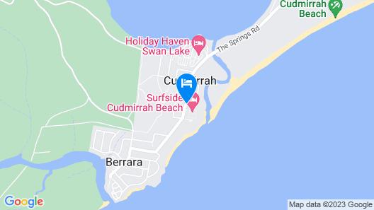 Surfside Cudmirrah Beach Map