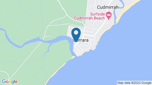 Berrara Beach Holiday Chalets Map