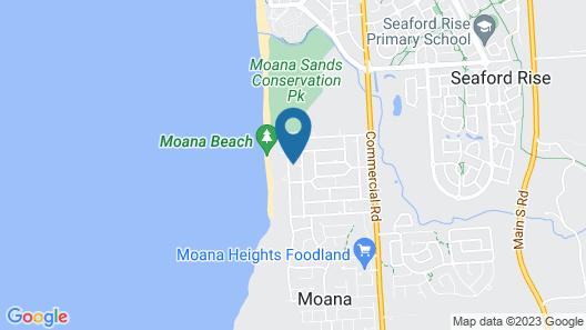 Ocean View Moana Map