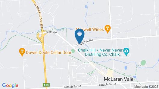 Bellevue Bed & Breakfast McLaren Vale Map