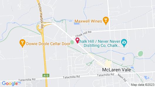 Casavino Luxury Villas Map