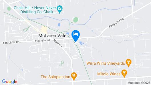 Serafino McLaren Vale Map