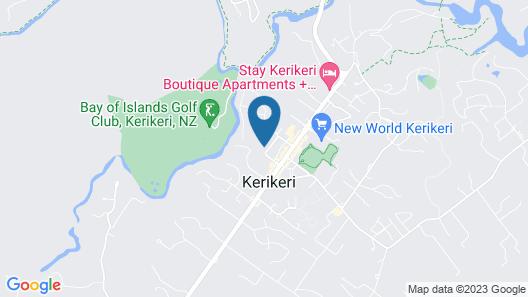 Kerikeri Homestead Motel & Apartments Map