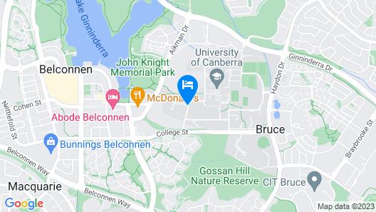 Unilodge @ UC Short Stays Map