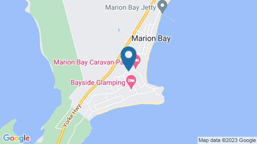 Marion Bay Holiday Villas Map