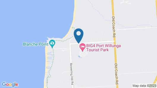 Big4 Port Willunga Tourist Park Map