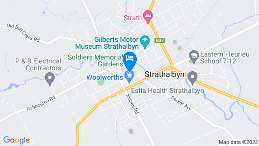 Victoria Hotel - Strathalbyn Map