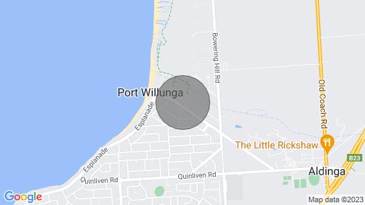 Port Willunga House Fleurieu Peninsula Map