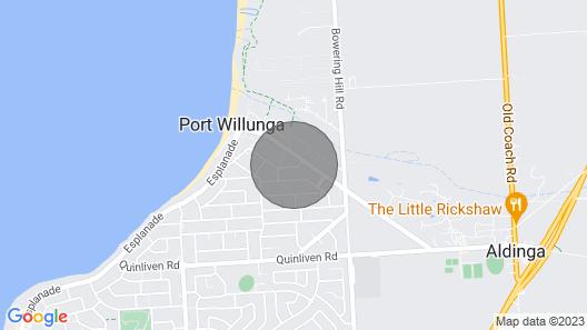 THE Tree House. Port Willunga Map