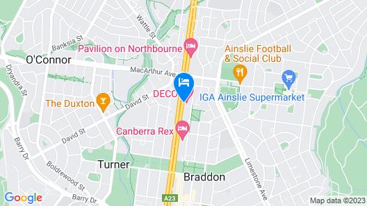 Deco Hotel Map