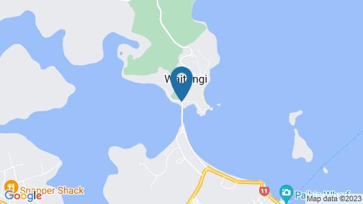 Copthorne Hotel and Resort Bay of Islands Map