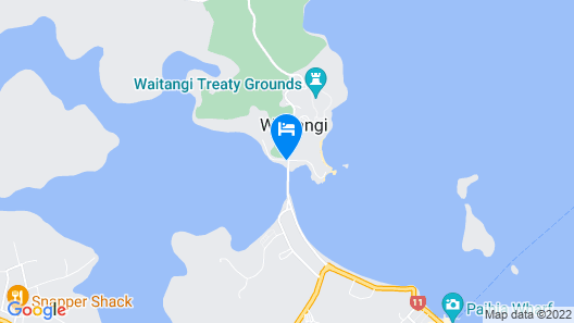 Copthorne Hotel and Resort Bay of Islands Map