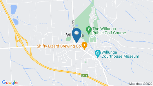 Willunga House Map