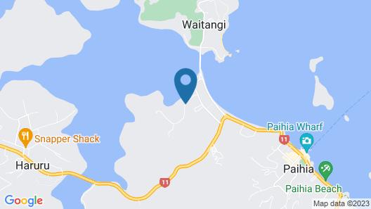 Waitangi Holiday Park Map