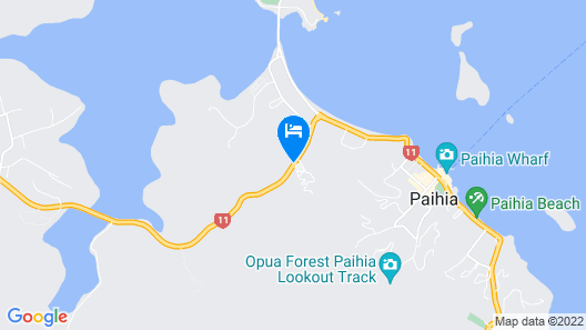 Bay of Islands Holiday Apartments Map