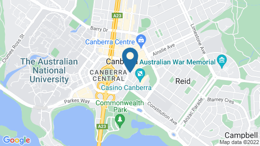 Nesuto Canberra Map