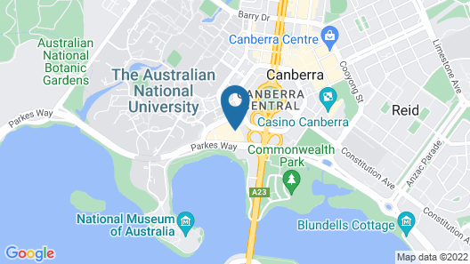 Accommodate Canberra - The ApARTments Map