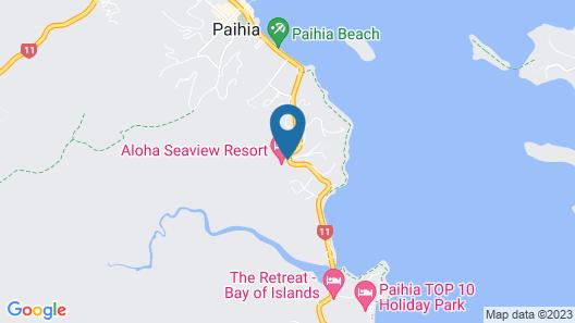 Aloha Seaview Resort Motel Map