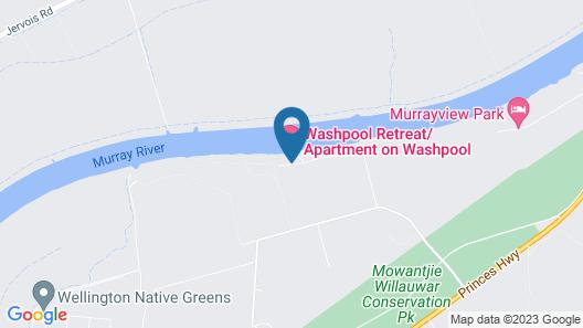 Washpool Retreat Map