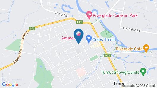 Merivale Motel Map